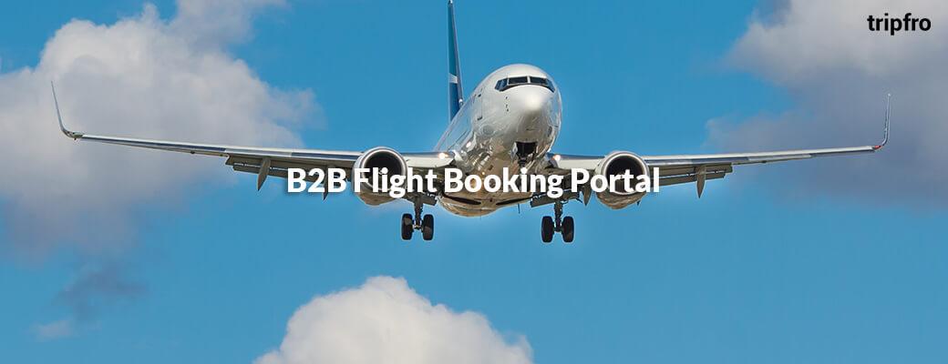 B2B Flight Booking Portal